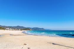 Shirahama Beach in Shimoda City, Shizuoka Prefecture