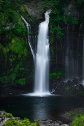 Shiraito Falls in Fujinomiya, Shizuoka, Japan