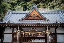 Shirayama Hime Shrine in Iwakuni City, Yamaguchi Prefecture