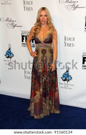 Shirly Brener at the L.A. Fashion Industry Makes A Difference for Israel runway fashion show, Century Plaza Hotel, Century City, CA. 05-12-11