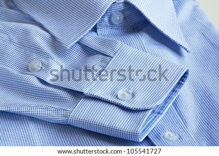 Shirt details in macro shot