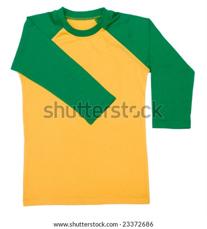 shirt isolated on the white background
