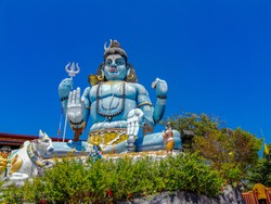 Shiva statue at Koneshwaram kovil in Srilanka