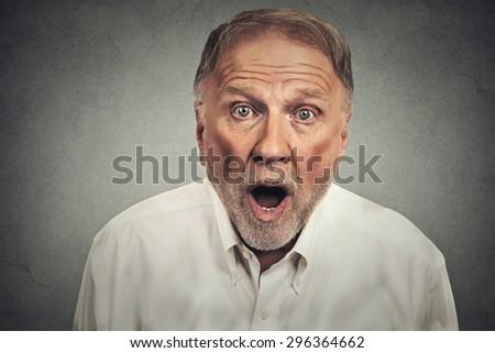 shocked man  #296364662