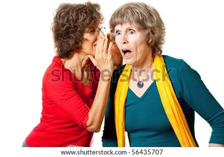 Shocking senior gossip