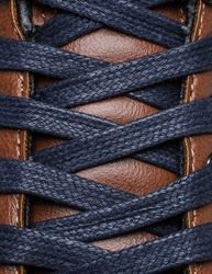 shoe lace close up look