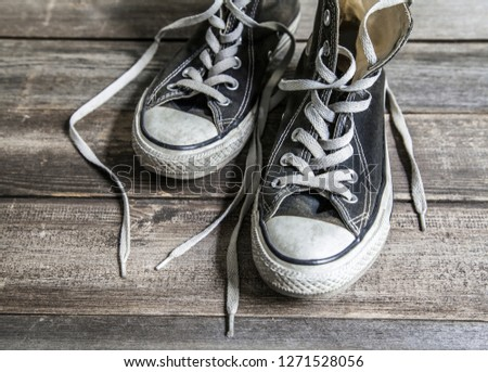 Shoe, Sports Shoe, Canvas Shoe #1271528056