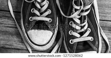 Shoe, Sports Shoe, Canvas Shoe #1271528062