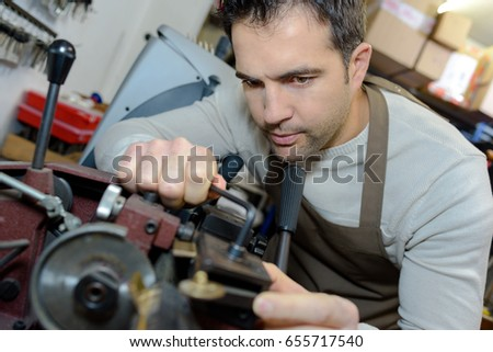 shoemaker at work #655717540
