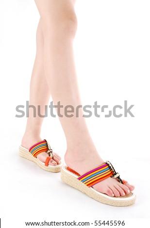 shoes & leg