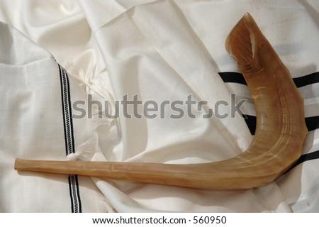 shofar and tallit