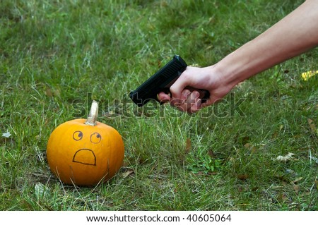 Pumpkins are terrible creatures and should be shot on site ...