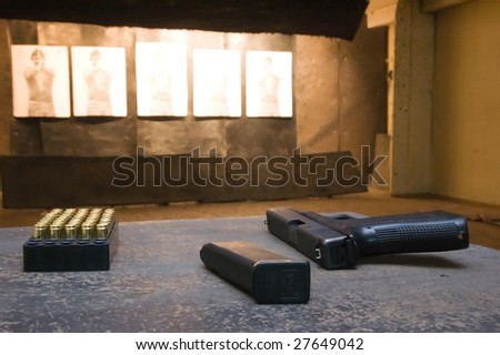 shooting range conception