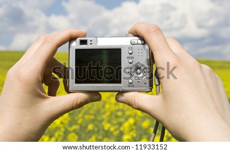 Shooting with point and shoot camera