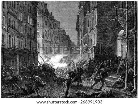 shootouts in the rue saint...