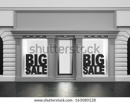 Shop showcase