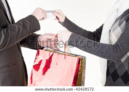 shopping - stock photo