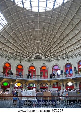 Einkaufen Arcade in Leeds Großbritannien