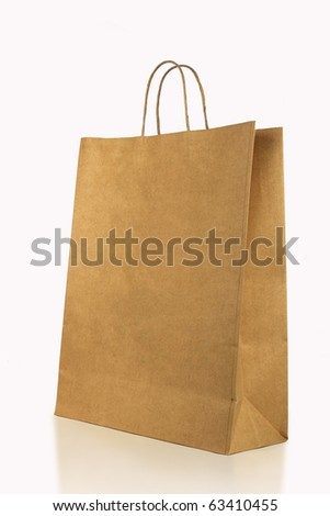 Shopping Bag (Clean cover) - stock photo