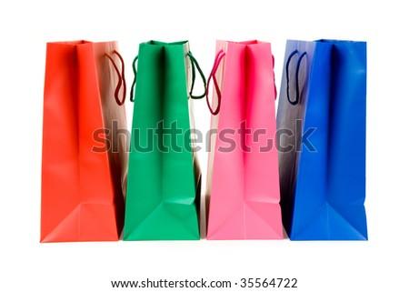 Shopping Bags close up shot