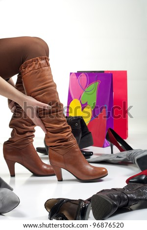 Shopping boots