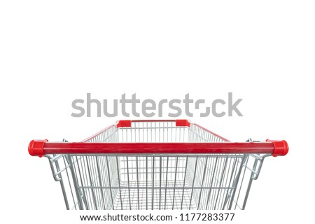 shopping cart isolated on white background #1177283377