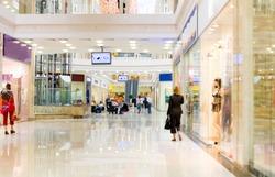 Shopping hall #1