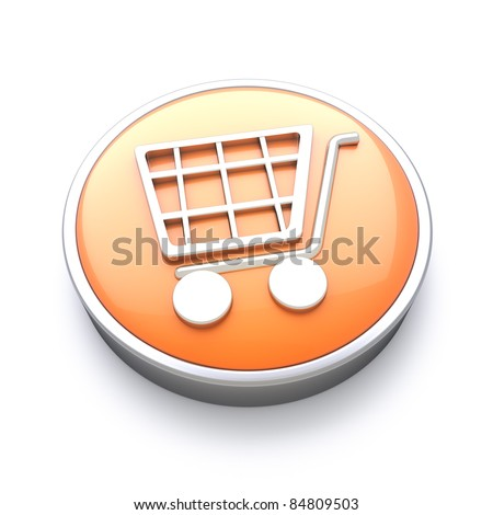 Shopping icon , great for E-commerce and online services