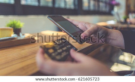 Shopping Online With ECommerce Credit Card.