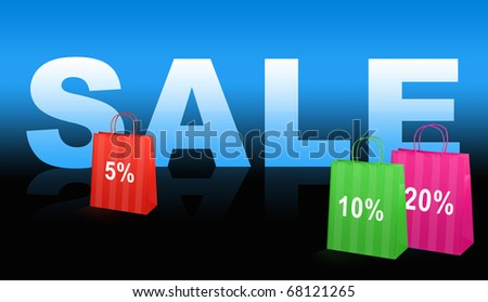 Shopping. Sale