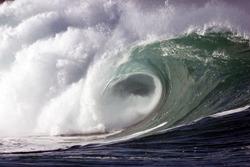 shore break wave