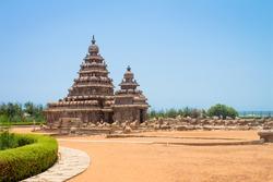 Shore temple at Mahabalipuram, Tamil Nadu, India