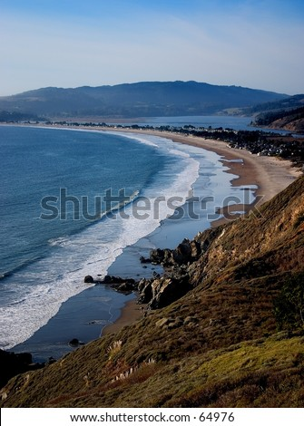 Shoreline at Stinson Beach, CA