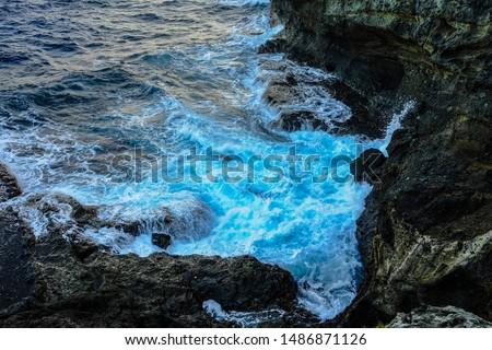 Shoreline in Basco, Batanes Philippines #1486871126