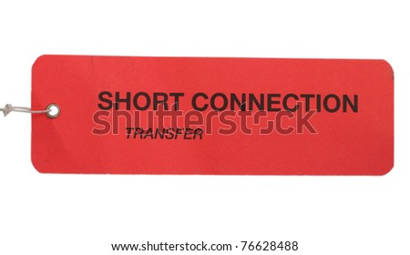 Short connection tag