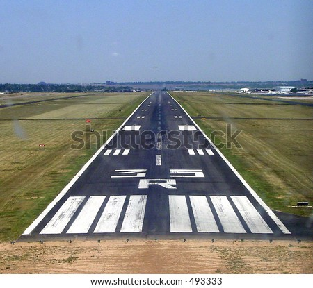 Short Final - stock photo