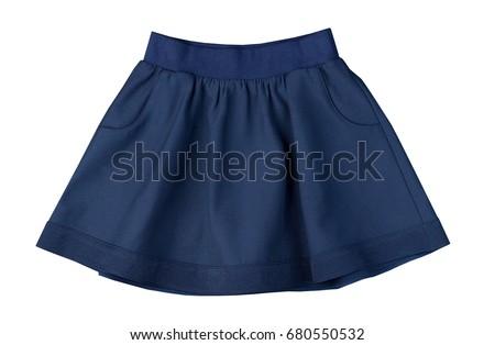short skirt for girls of school age