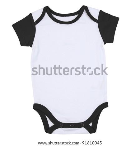 Short Sleeve Baby Sport Onesie Ringer Tshirt
