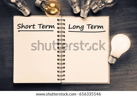 Stock options short term long term