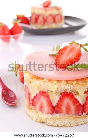 shortcake (focus on side)