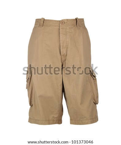 shorts isolated on white background