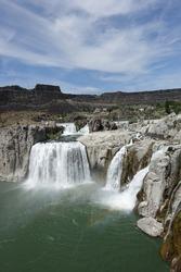 Shoshone Falls in TwinFalls, Idaho, waterpower