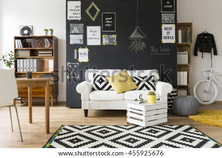 Shot of a creative and comfortable living room interior