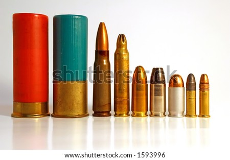 Shotgun, Rifle, and Handgun Bullets