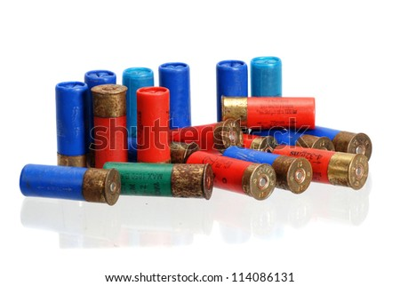 Shotgun shells, caliber 12