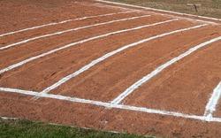 Shotput Impressions, balls, stadium, and ring
