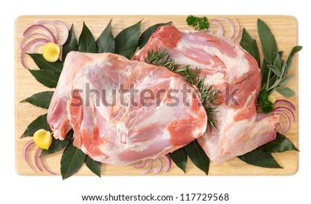 Shouder of lamb
