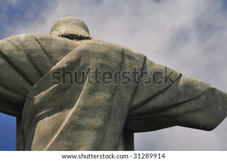 Shoulder of Cristo Redentor