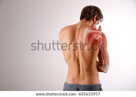 Shoulder pain #605633957