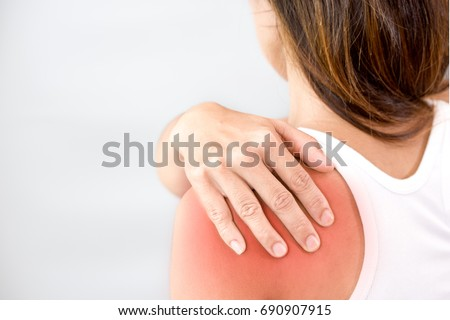 shoulder pain and swelling  #690907915